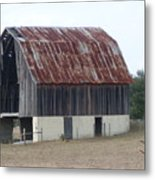 Moss Bluff Barn Metal Print