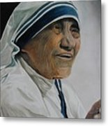 Mother Teresa Metal Print