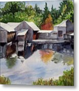 Moulton's Mill Metal Print