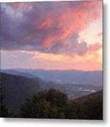 Mount Greylock Sunset Metal Print