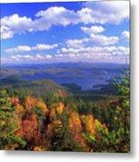Mount Morgan Squam Lake Foliage Metal Print