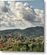 Mount Talbert In Happy Valley Oregon Metal Print