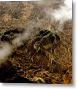 Mountain From The Air Metal Print