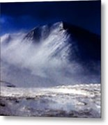 Mountain Of Alaska Metal Print