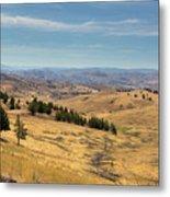 Mountainous Terrain In Central Oregon Metal Print