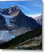 Mountains And Glaciers Metal Print