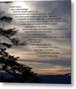 Mountaintop Moments Metal Print