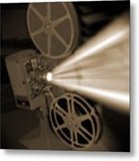 Movie Projector  Metal Print by Mike McGlothlen