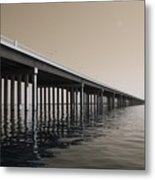 Mprints - Hwy 90 Bridge Metal Print