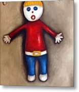 Mr. Bill Metal Print