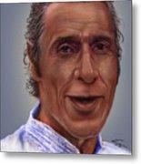 Mr. Garay Portrait Metal Print