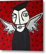 Mr.creepy Metal Print by Thomas Valentine