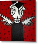 Mrs.creepy Metal Print