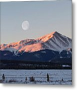 Mt. Elbert Sunrise Metal Print