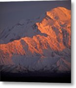 Mt. Mckinley Sunset Metal Print