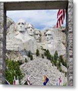 Mt Rushmore Entrance Metal Print