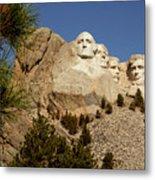 Mt Rushmore II Metal Print