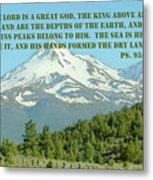 Mt. Shasta Ps.95 V 3-5 Metal Print