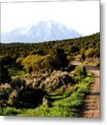 Mt. Sopris - A Colorado Landscape Metal Print