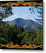 Mt Tamalpais Framed 1 Metal Print