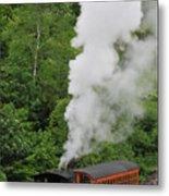 Mt Washington Cog Railroad Metal Print