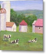 Mud Lake Dairy Farm Metal Print