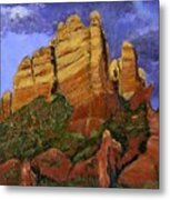Munds Mountain Metal Print
