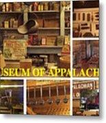 Museum Of Appalachia Block Collage Metal Print