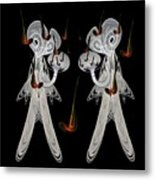 Music And Lace Metal Print by Ricky Kendall