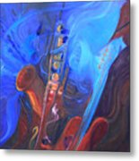 Music For Saxy Metal Print