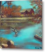 Muskego Lake Metal Print