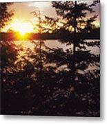 Muskoka Lake Of Bays Sunrise Metal Print