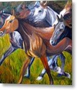 Mustang Spirit Metal Print