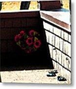 My Neighbors Porch Metal Print