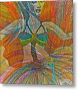 Mysterious Dancer Metal Print