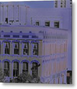 Mystery Above The Five And Dime Metal Print