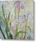 Mystic Iris Metal Print