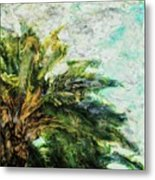 Mystical Palm Metal Print