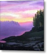 Mystical Sunset Metal Print
