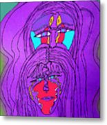 Mystics Metal Print