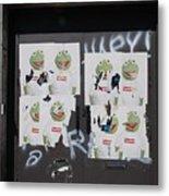 N Y C Kermit Metal Print