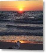 Naples Sunset 0042 Metal Print