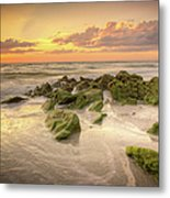 Naples Sunset Metal Print