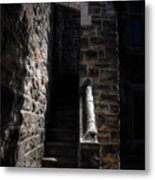 Narrow Staircase Metal Print