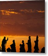 Nativity Sunrise Metal Print