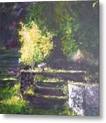 Naturallly....or A Quiet Corner Metal Print