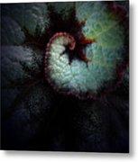 Nature's Rex Begonia Metal Print