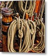 Nautical Knots 16 Metal Print