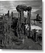 Navy Beach--mono Lake Metal Print