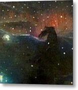 Nebula Triptych Metal Print by Alizey Khan